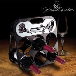 Pudelihoidja veinitarvikutega Summum Sommelier