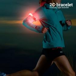 Защитный Спортивный LED Браслет 2С