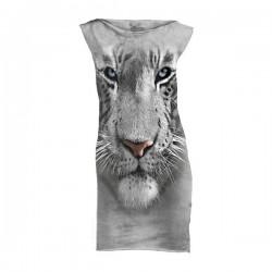 minikleit 3D prindiga White Tiger