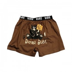 meeste bokserid Bear Bum