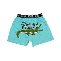 meeste bokserid Silent Gator