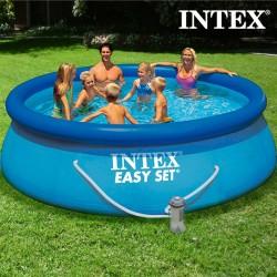 Круглый Бассейн с Очистителем Intex
