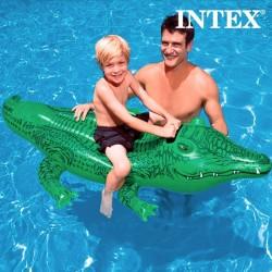 Täispuhutav Krokodill Intex