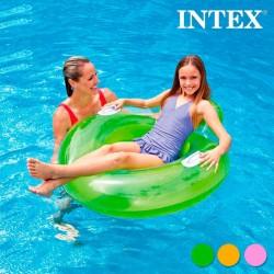 Täispuhutav Seljatoega Ujumisrõngas Intex