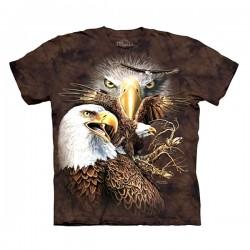 3D prindiga T-särk lastele 14 Eagles