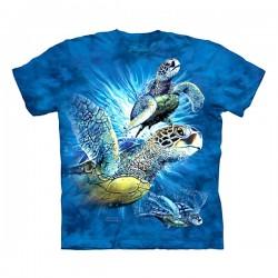 3D prindiga T-särk lastele 9 Sea Turtles