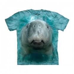 детская футболка с 3D принтом Manatee
