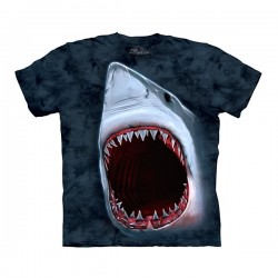 футболка с 3D принтом Shark Bite