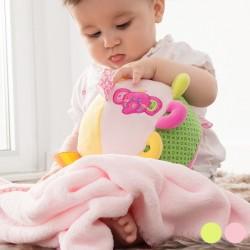 Детский Плюшевый Мяч с Одеялом