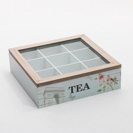 Vintage Teekarp Lilledega