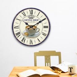 Настенные Часы Кофейная