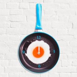 Настенные Часы Сковорода с Яичницей