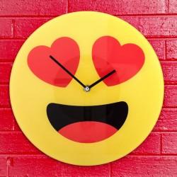 стеклянные Настенные Часы HEARTS