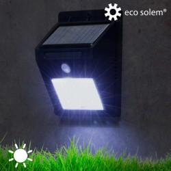 Päikesepatareiga ja Liikumisanduriga Lamp