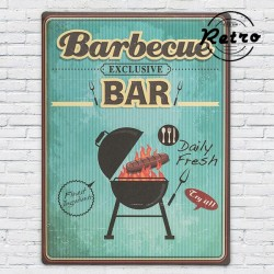 metallist Retro Poster Barbecue