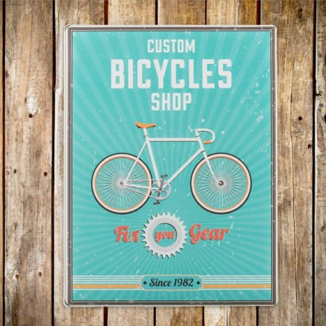 metallist Retro Poster BICYCLES