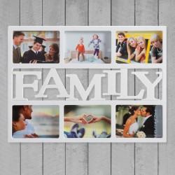 Рамка для фотографий FAMILY  (6 фото)