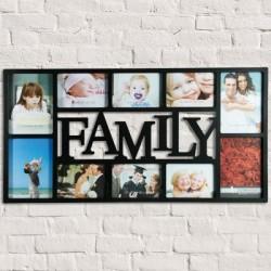 Рамка для фотографий FAMILY  (10 фото)