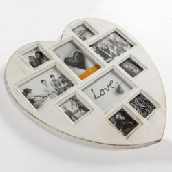 Pildiraam VINTAGE HEART (10 pilti)