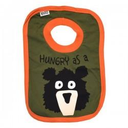 слюнявчик Hungry as a Bear