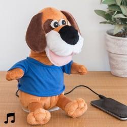 Танцующая игрушка-колонка Собака