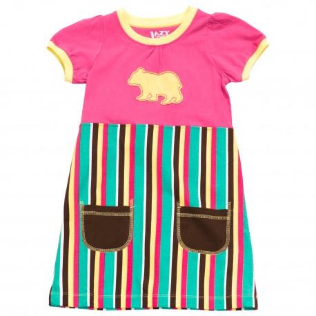 puuvillane laste kleit Bear
