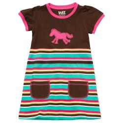 детское платье из хлопка Horse