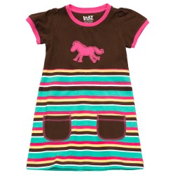 puuvillane laste kleit Horse