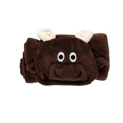 Одеяло-игрушка с капюшоном Moose