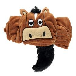 Одеяло-игрушка с капюшоном Horse