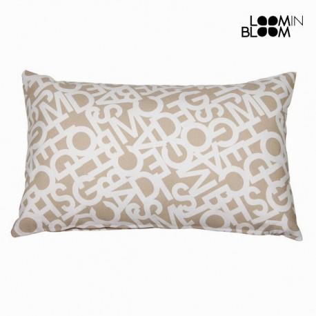 бежевая Декоративная подушка ABC, 30 x 50см