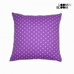 Большая фиолетовая Подушка Polka Dot, 60 x 60см