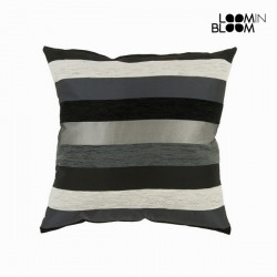 Большая чёрная подушка Motegi, 60 x 60см