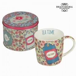 roheline Tass karbis Tea Time