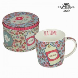 sinine Tass karbis Tea Time