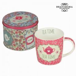roosa Tass karbis Tea Time