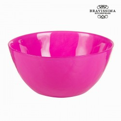 roosa klaasist Kauss, Ø 15cm
