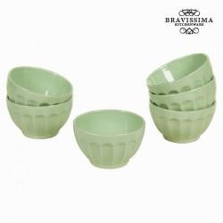 Комплект из 6 зелёных Мисок