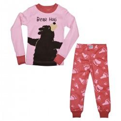 kaheosaline Pidžaama Pink Hug