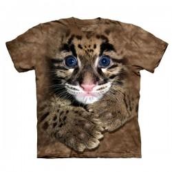 3D prindiga T-särk lastele Leopard Cub