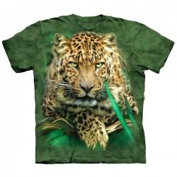 футболка с 3D принтом Majestic Leopard