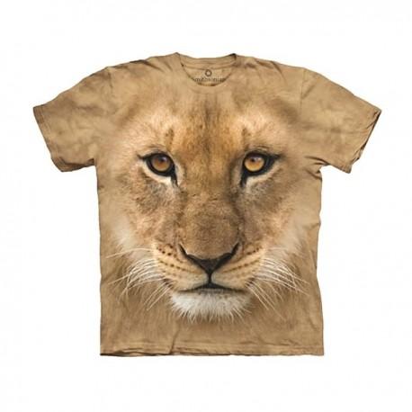 3D prindiga T-särk lastele Lion Cub