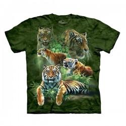 3D prindiga T-särk Jungle Tigers