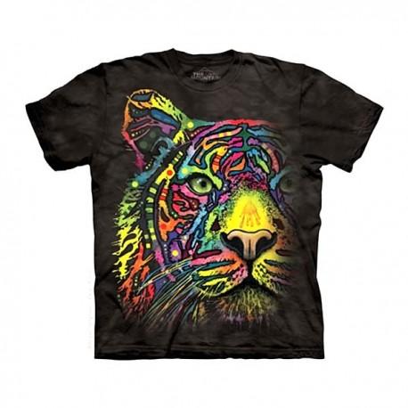 3D prindiga T-särk Rainbow Tiger