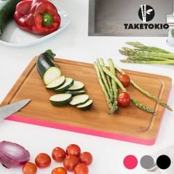 Бамбуковая Кухонная Доска с цветным краем
