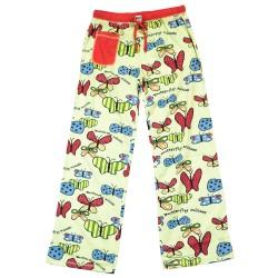 naiste Pidžaama Püksid Butterfly