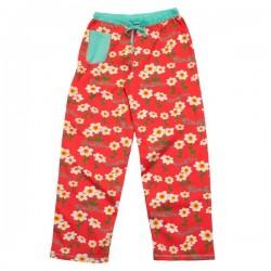 naiste Pidžaama Püksid Flowers