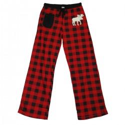 naiste Pidžaama Püksid Moose Plaid