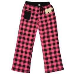naiste Pidžaama Püksid Bear Plaid
