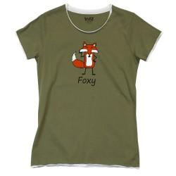 Naiste T-särk Foxy